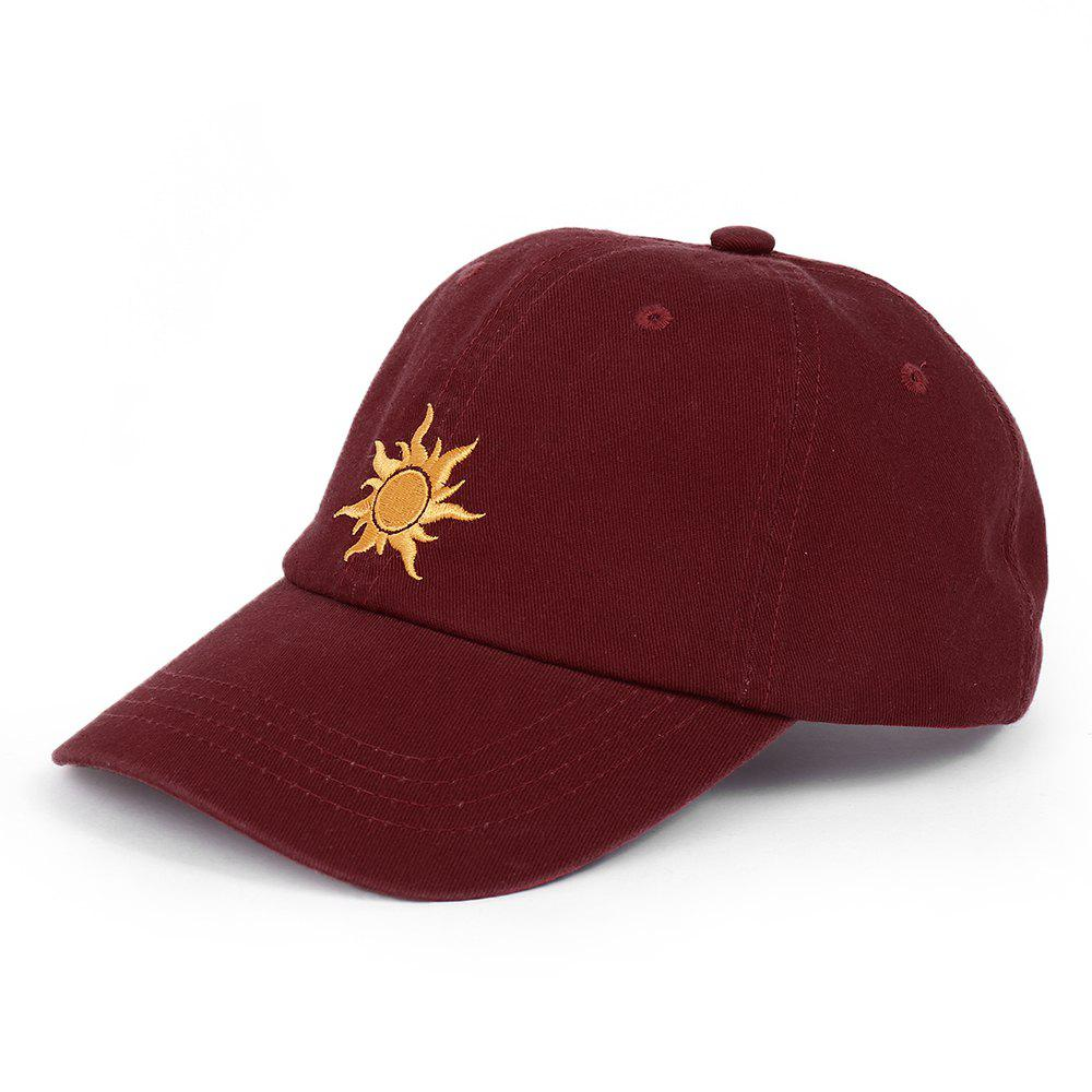 Chic Cartoon Sun Pattern Embroidery Baseball Cap
