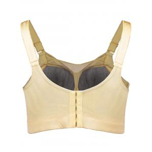Wirefree Padded Beading Plus Size Bra -