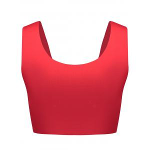 U Neck Seamless Sports Bra -