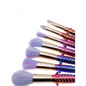 Professional Ultra Soft Fiber Hair Makeup Brush Set -