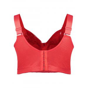 Plus Size Wirefree Unlined Full Cup Bra -