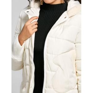Hooded Puffer Jacket -