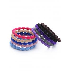 Simple Elastic Hair Band Set -