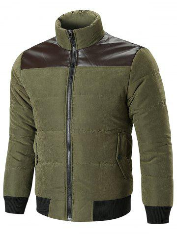 Letterette Panel Lightweight Padded Jacket