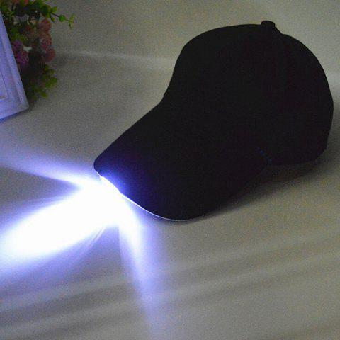 Best Night Fishing Camp LED Light Baseball Cap