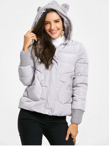 Outfits Hooded Puffer Jacket