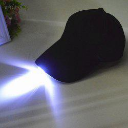 Night Fishing Camp LED Light Baseball Cap -