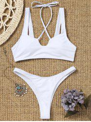 Thong High Cut Bikini Set -