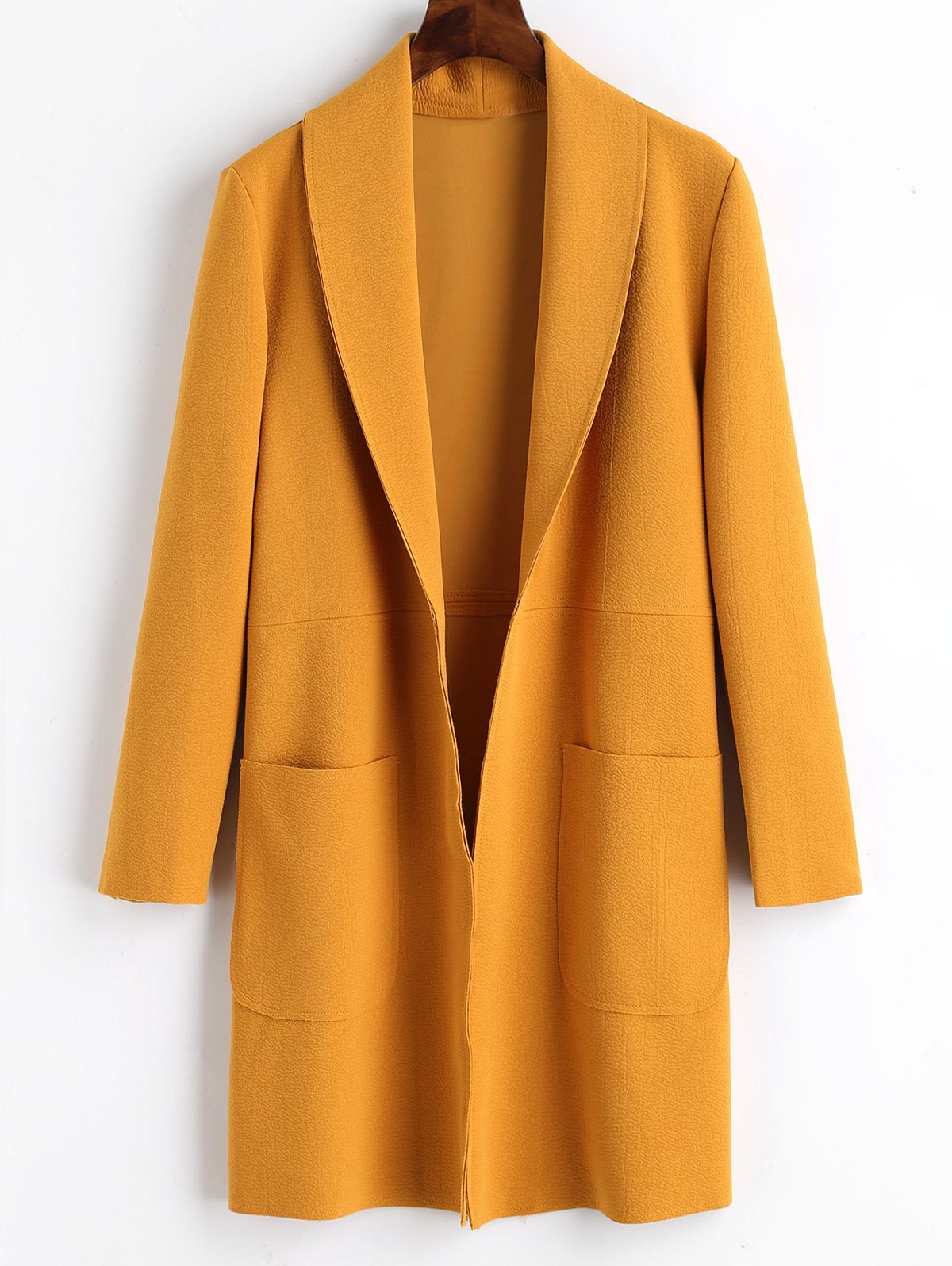 Sale Plain Open Front Coat