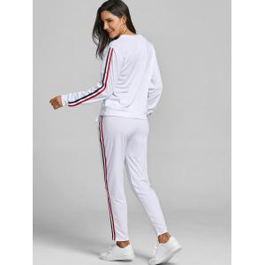 Striped Sweat Suits -