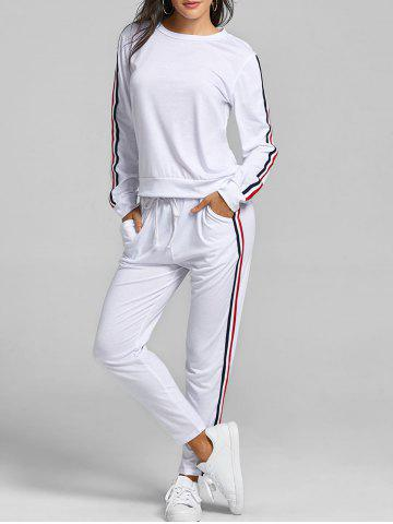 Latest Striped Sweat Suits