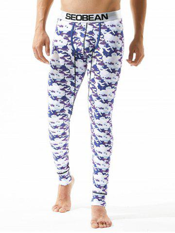 U Pouch Camouflage Gym Pants