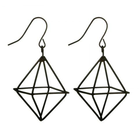 Affordable Geometric Metal Drop Earrings