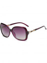 Vintage Rhinestone Inlay Decoration Oversized Sunglasses -
