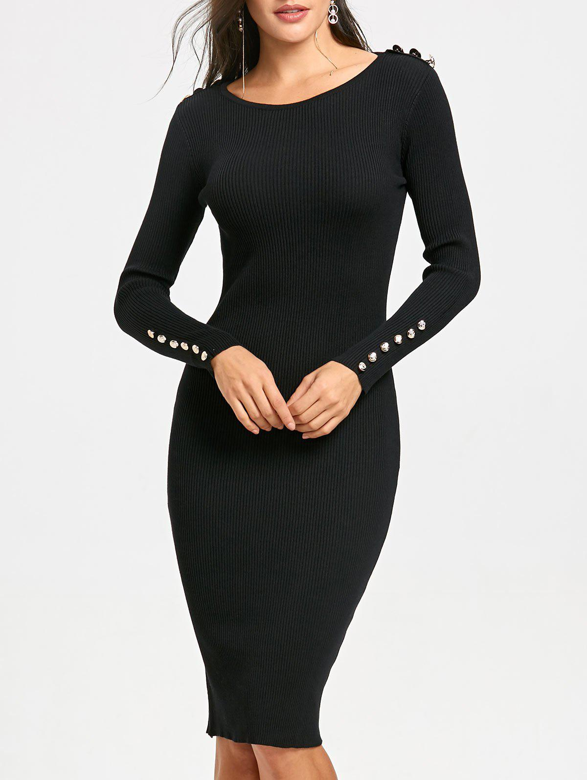 Outfit Bodycon Sweater Dress