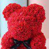 Wedding Party Decoration Artificial Roses Bear Valentine's Day Gift -