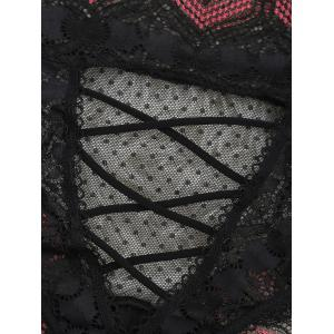 Lace Lattice Back See Through Panties -