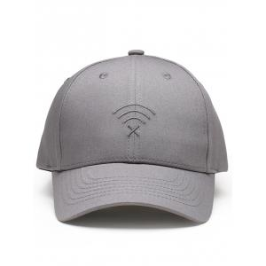 Funny WIFI No Signal Embroidery Decoration Baseball Hat -