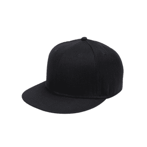 Outdoor Line Embroidered Flat Brim Baseball Hat -
