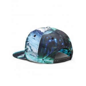 Outdoor Marine Theme Flat Baseball Hat -