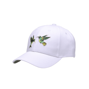 Vintage Birds Embroidery Decoration Baseball Hat -