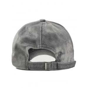 Vintage Metal Bar and Rings Embellished Baseball Hat -