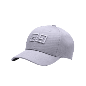 Outdoor Geometric Pattern Embroidery Adjustable Baseball Hat -