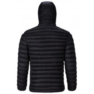 Drawstring Padded Zip Up Jacket -