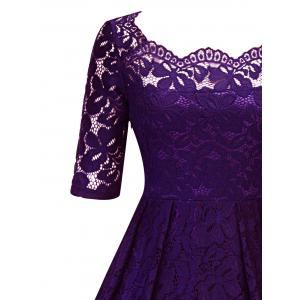 Vintage Lace Party Pin Up Dress -