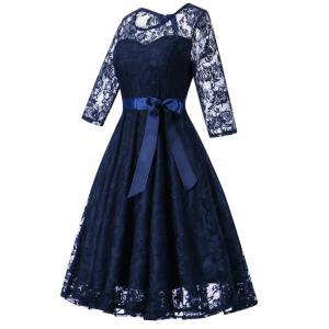 Vintage Lace Party Dress -