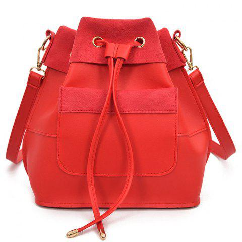Sale PU Leather Multi Function String Crossbody Bag