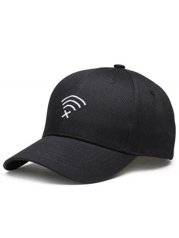 Outfits Funny WIFI No Signal Embroidery Decoration Baseball Hat