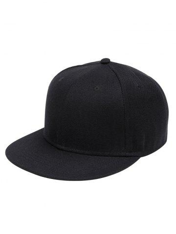 Fashion Outdoor Line Embroidered Flat Brim Baseball Hat
