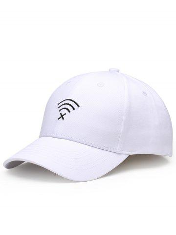 Shops Funny WIFI No Signal Embroidery Decoration Baseball Hat