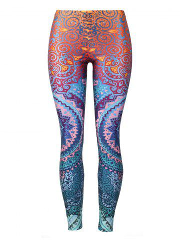 Outfit Fitted Print Bohemian Leggings