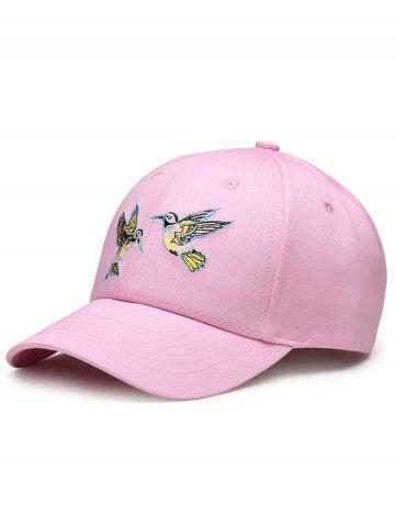 Fashion Vintage Birds Embroidery Decoration Baseball Hat