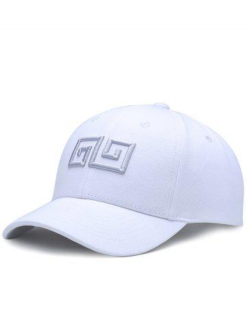 Latest Outdoor Geometric Pattern Embroidery Adjustable Baseball Hat
