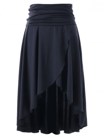Online Asymmetrical Multi-wear High Low Skirt