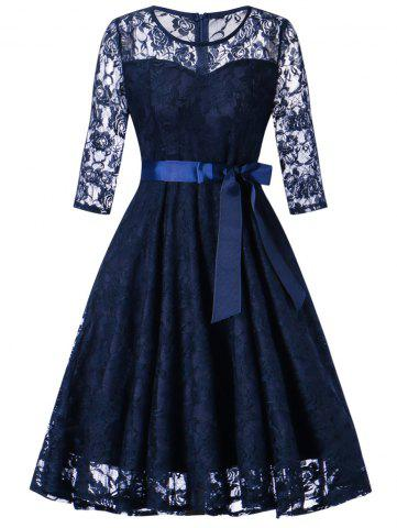 Fashion Vintage Lace Party Dress