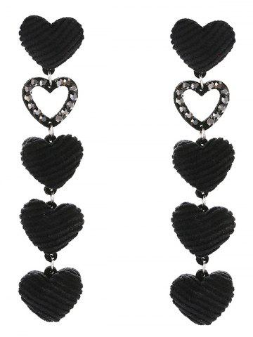 Store Adorable Heart Drop Earrings