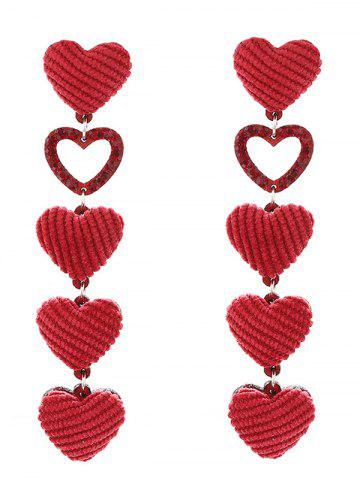 Best Adorable Heart Drop Earrings