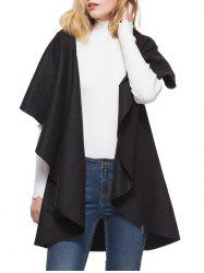 Short Sleeve Long Coat Vest -