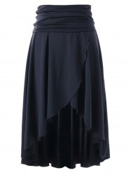 Asymmetrical Multi-wear High Low Skirt -