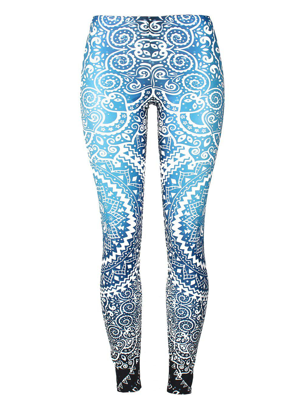 Outfits Skinny Bohemian Print Leggings