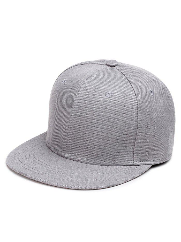 Online Outdoor Line Embroidered Flat Brim Baseball Hat