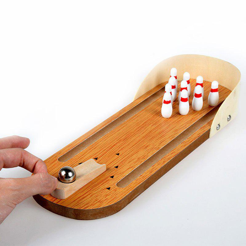 Entertainment Mini Desktop Bowling Game