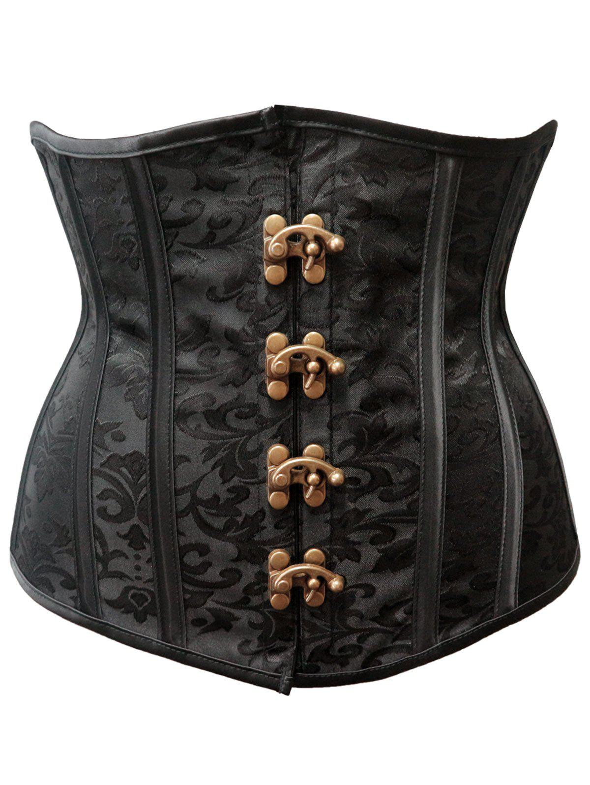 Store Steel Boned Strapless Waist Training Corset