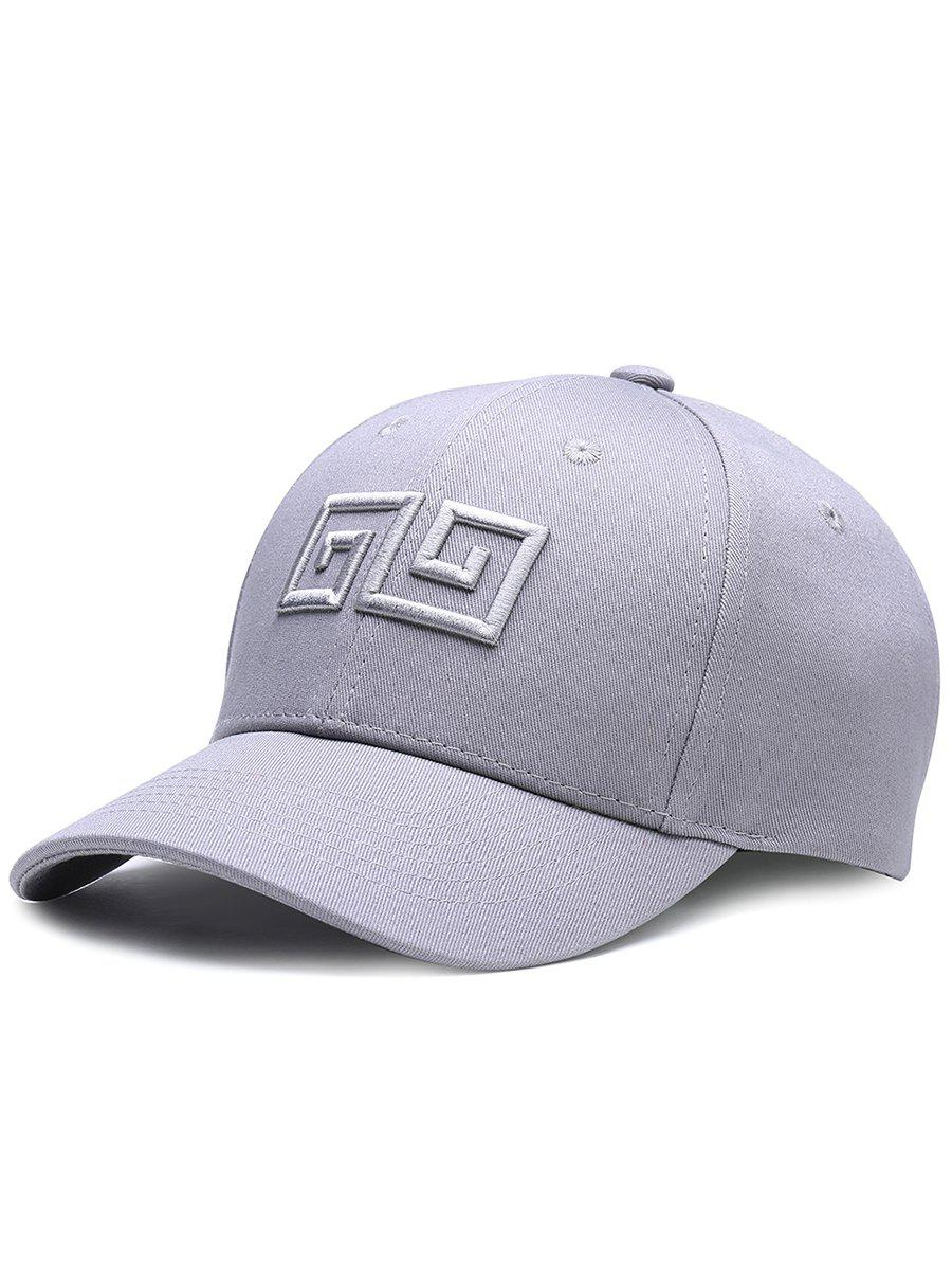 Affordable Outdoor Geometric Pattern Embroidery Adjustable Baseball Hat