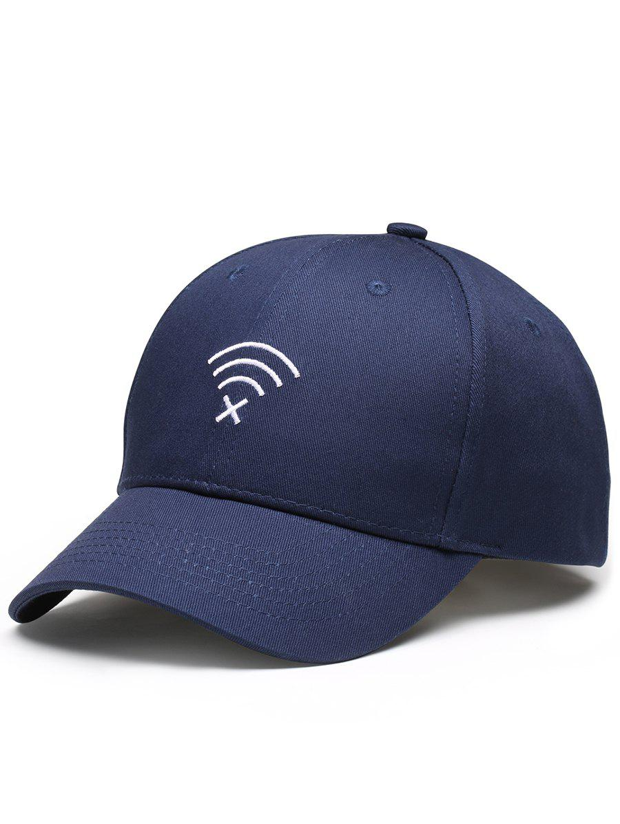 Best WIFI No Signal Embroidery Decoration Sunscreen Hat