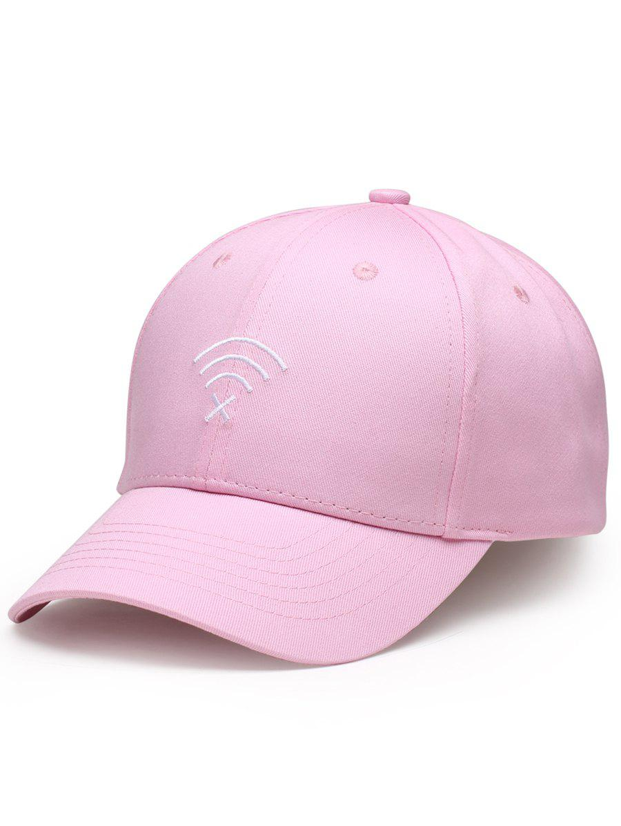 Latest WIFI No Signal Embroidery Decoration Sunscreen Hat